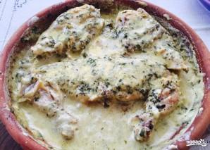 Цыпленок чкмерули в сливочном соусе - фото шаг 4