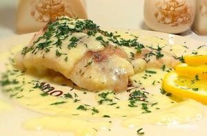 Рыба под лимонным соусом - фото шаг 8