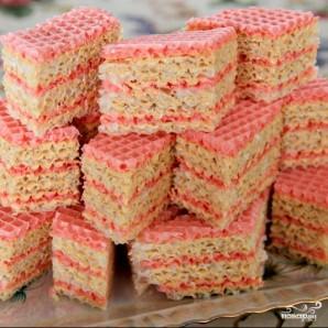 Украинский вафельный торт - фото шаг 9