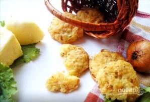 Печенье с сыром и луком - фото шаг 4