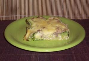 Брокколи с фаршем в духовке - фото шаг 7