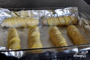 Сосиски в тесте в духовке - фото шаг 6