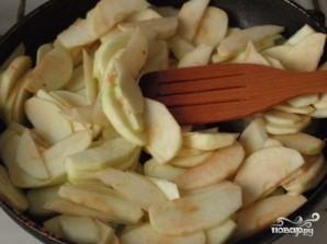 Яблочный пирог из слоеного бездрожжевого теста - фото шаг 3