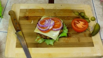 Супербургер от дяди Сэма - фото шаг 10
