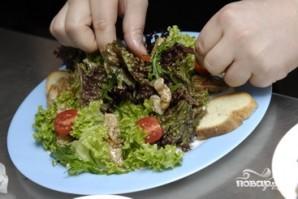 Салат с жареными баклажанами - фото шаг 12