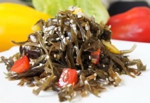 Салат по-корейски из морской капусты - фото шаг 7