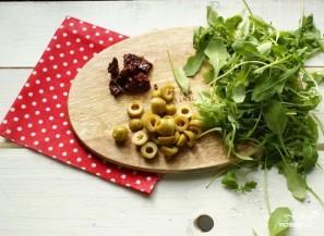 Салат с артишоками и вялеными помидорами - фото шаг 4