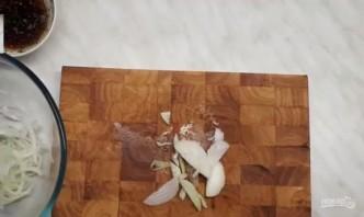 Баклажаны по-корейски с овощами без обжарки - фото шаг 1