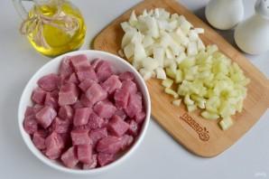 Сырные булочки с мясной начинкой - фото шаг 2