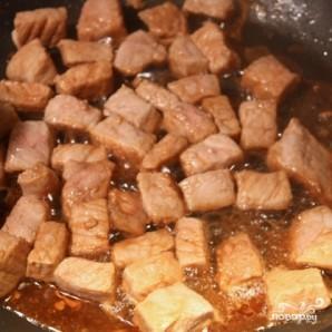 Сырная запеканка с мясом и картофелем - фото шаг 5