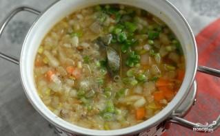 Грибной суп для похудения - фото шаг 4