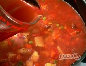 Суп-рагу с говядиной - фото шаг 7