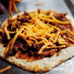 Мексиканская пицца - фото шаг 12