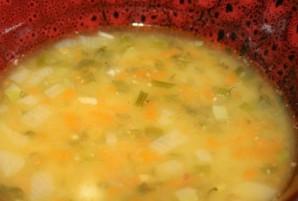 Гороховый суп с куриной грудкой - фото шаг 6