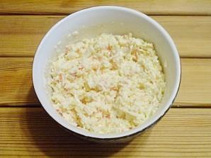 Салат к новогоднему столу - фото шаг 6