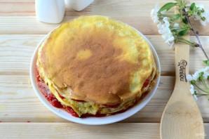 Слоеный омлет на завтрак - фото шаг 8