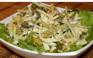 Салат из отварной печени - фото шаг 5