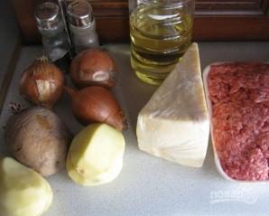 Картофельная запеканка с фаршем на скорую руку - фото шаг 1