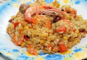 Рис с креветками и овощами - фото шаг 4