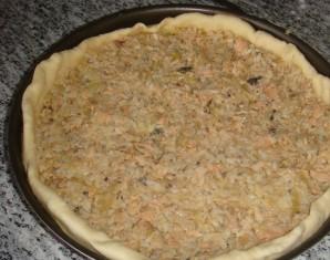 Пирог с камбалой - фото шаг 6