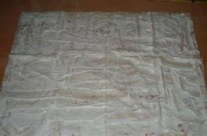 Лаваш с крабовыми палочками и сыром - фото шаг 5