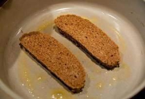 Гренки с яйцом и сыром - фото шаг 3