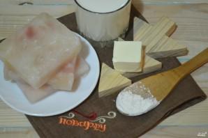 Рыба, запеченная под молочным соусом - фото шаг 1