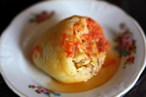Фаршированный перец вегетарианский - фото шаг 5
