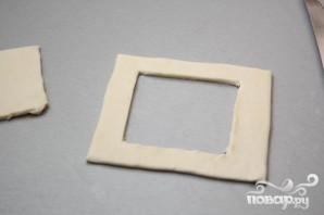 Тарталетки из слоеного теста - фото шаг 2
