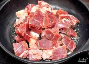 Бигус со свининой в мультиварке - фото шаг 1