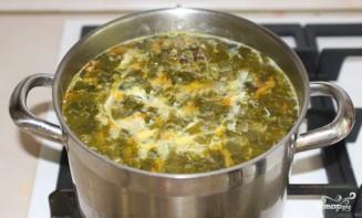 Щавелевый суп без картошки - фото шаг 5