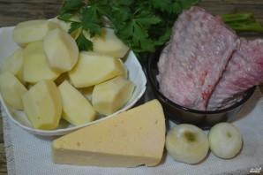 Индейка с картошкой в духовке - фото шаг 1