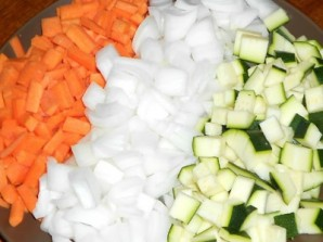 Салат из кабачков и сладкого перца - фото шаг 1