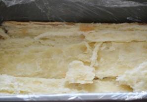 Слоеный торт с ягодами - фото шаг 2