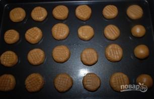 Печенье из арахисового масла - фото шаг 4