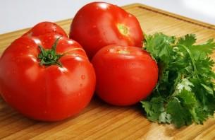 Коктейль из помидоров - фото шаг 1