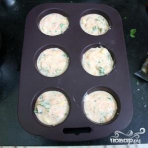 Морковные кексы с кориандром и кукурузой - фото шаг 8