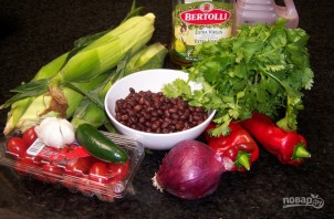 Салат из фасоли и кукурузы  - фото шаг 1