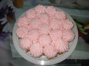 Торт без выпечки зефирный - фото шаг 6