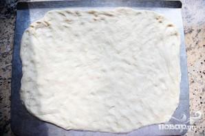 Пицца с кукурузными лепешками, фасолью и сыром - фото шаг 3