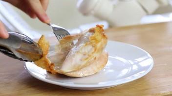 Пюре из фасоли, курицы и авокадо - фото шаг 4