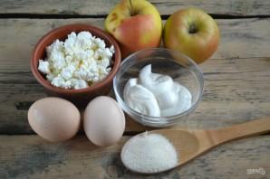 Творожно-яблочная запеканка - фото шаг 1