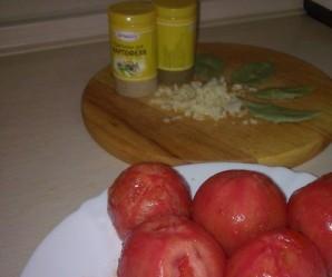 Баранина с баклажанами и помидорами - фото шаг 6