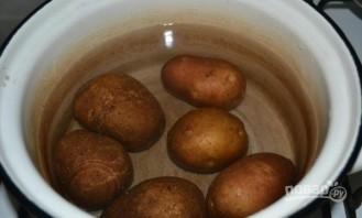 Салат с куриной грудкой и грибами - фото шаг 1