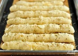 Хлебные палочки с сыром - фото шаг 3