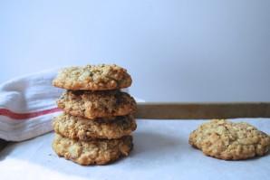 Овсяное печенье с кусочками шоколада - фото шаг 7