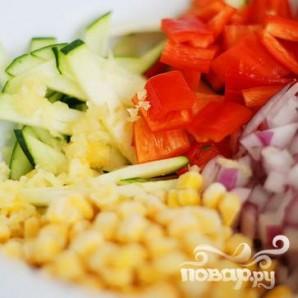 Летние жареные овощи - фото шаг 2