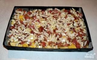 Картофель с мясом и грибами - фото шаг 4
