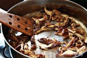 Азиатский салат со свининой и грибами - фото шаг 4
