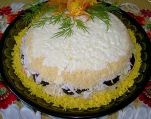 Салат с черносливом и сыром - фото шаг 4